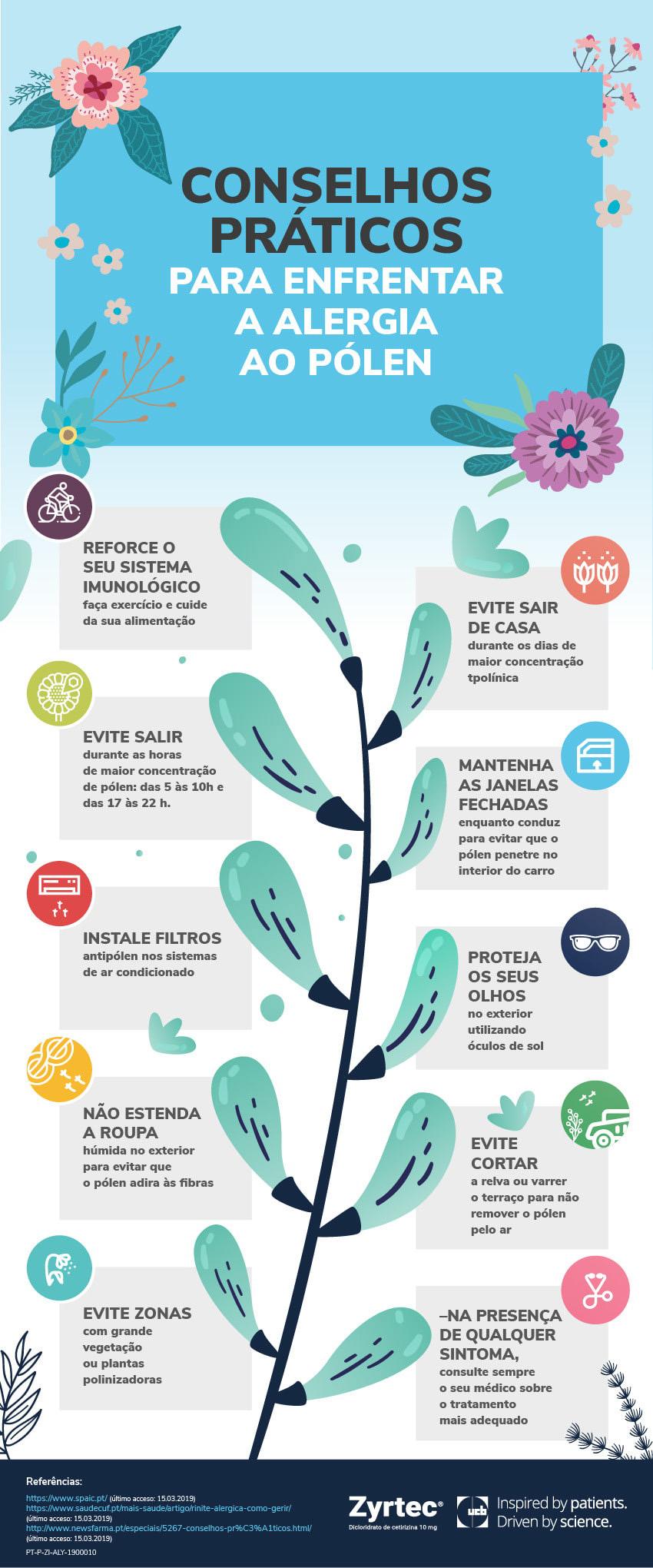 consejos practicos alergia polen