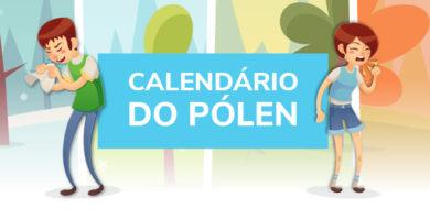 Calendário do polen