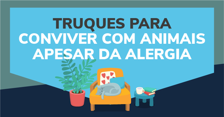 Conviver animais apesar da alergia
