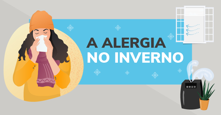 A alergia no inverno