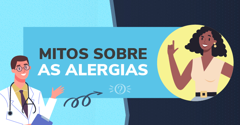 Mitos sobre as alergias